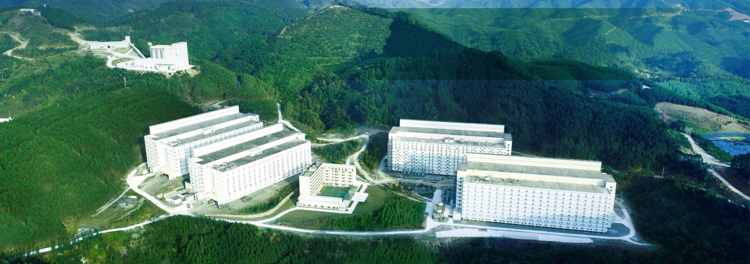 prédios de 13 andares para criação de porco na China